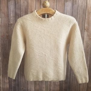 Lands' End Crewneck Wool Sweater M